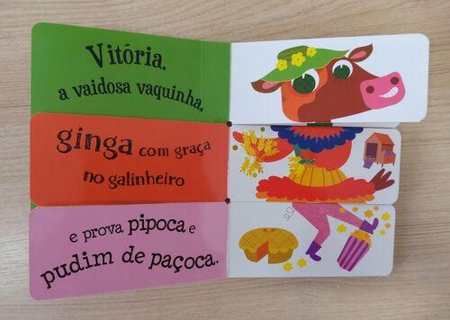 Livro Infantil Conte e Reconte - Animais da Fazenda