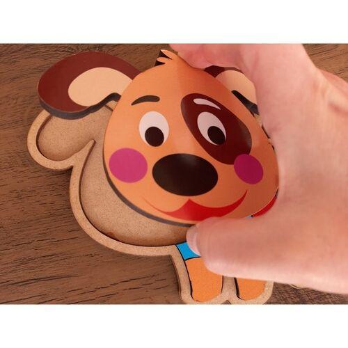 Quebra-cabeça infantil de animais - Cachorro