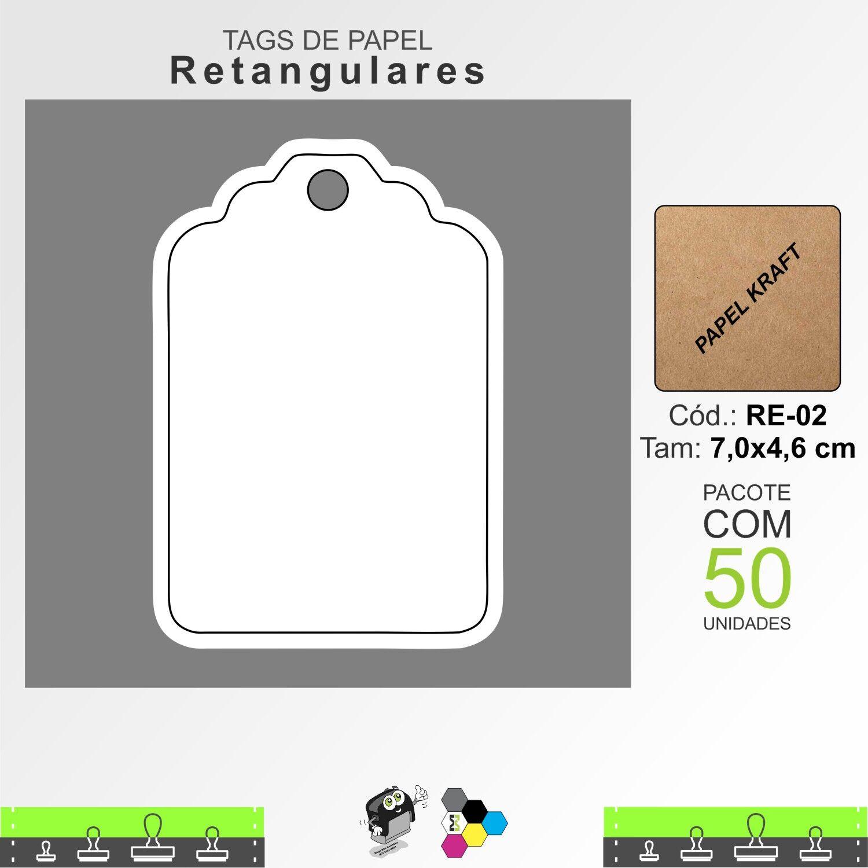 Tags Retangulares - RE02
