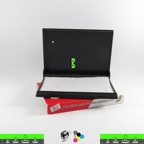 Almofada Sem Tinta Para Carimbos - 11 X 7 cm - Japan Nº 3