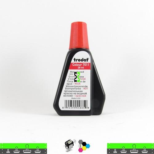 Tinta Trodat Vermelha de Alta Pigmentação