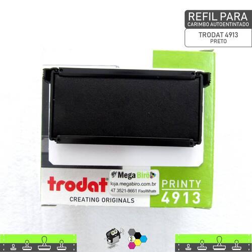 Refil TRODAT 4913 - para Carimbo Autoentintado