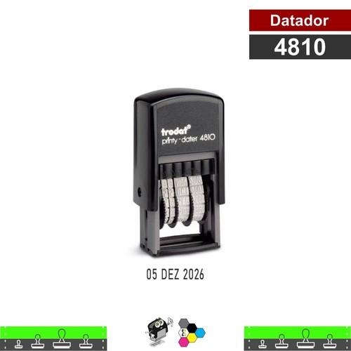 Carimbo Datador 4810 - Autoentintado