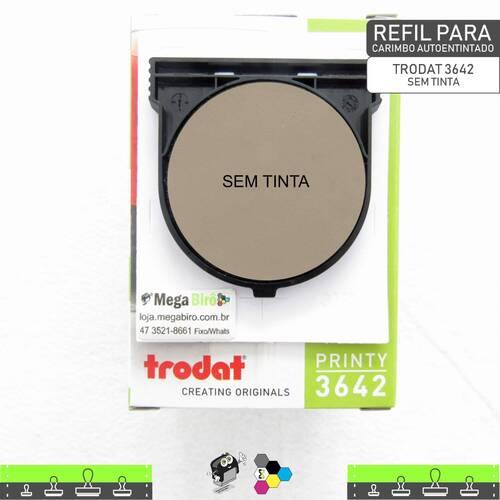 Refil TRODAT 3642 - para Carimbo Autoentintado