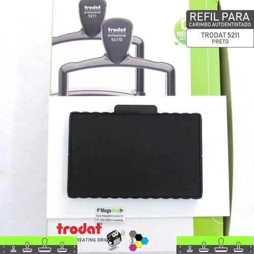 Refil TRODAT 5211 - para Carimbo Autoentintado