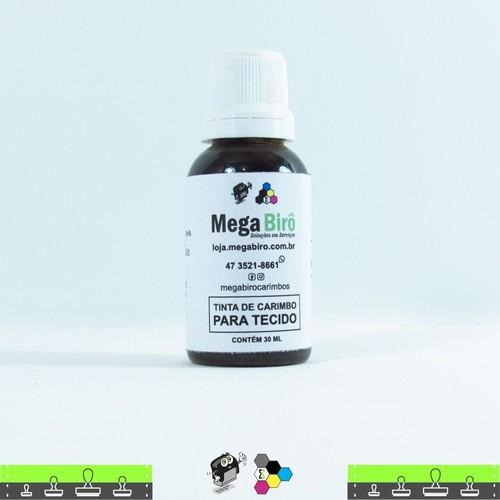 Tinta de Tecido para Carimbos - Marrom 30 ml