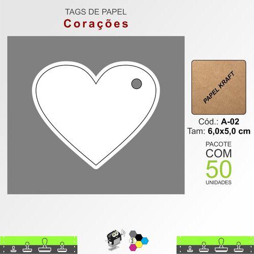 Tags Corações - A02