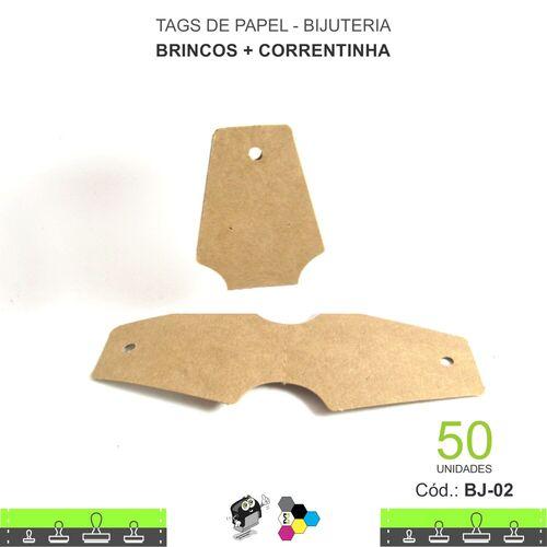 Tags para Acessórios - Brinco + Colar