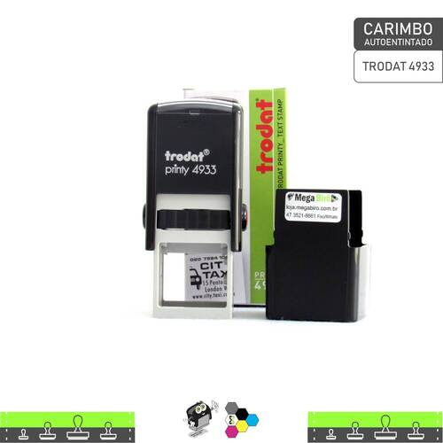 Carimbo Autoentintado TRODAT 4933