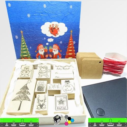 Kit - Carimbos de Natal