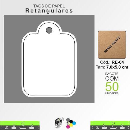 Tags Retangulares - RE04