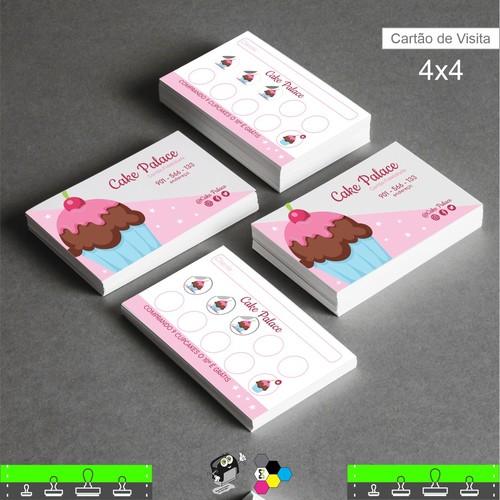 Cartão de Visita Impressão Frente e Verso