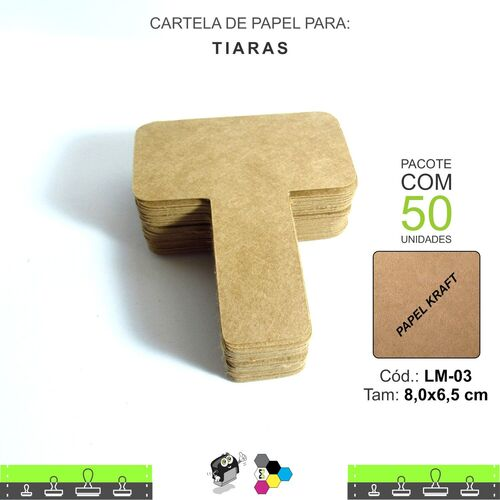 Cartela para Tiara - LM03
