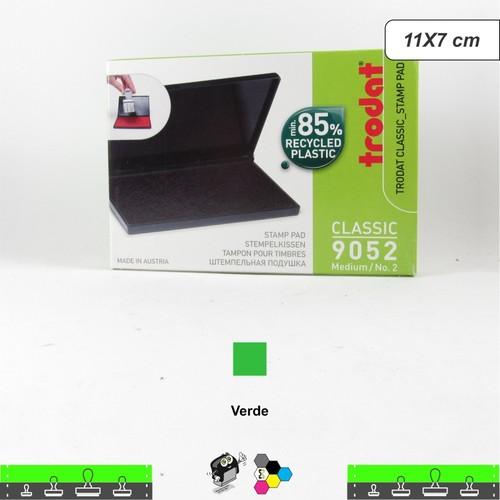 Almofada Carimbeira Alta Definição - Verde 11x7 cm Trodat 9052
