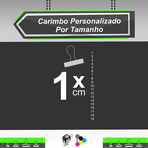 Carimbo Personalizado 1 cm