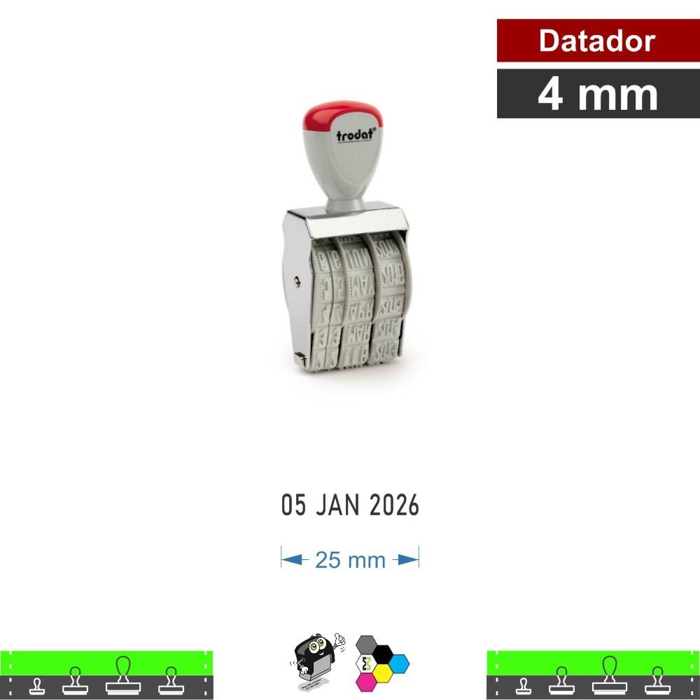 Datador 4 mm manual