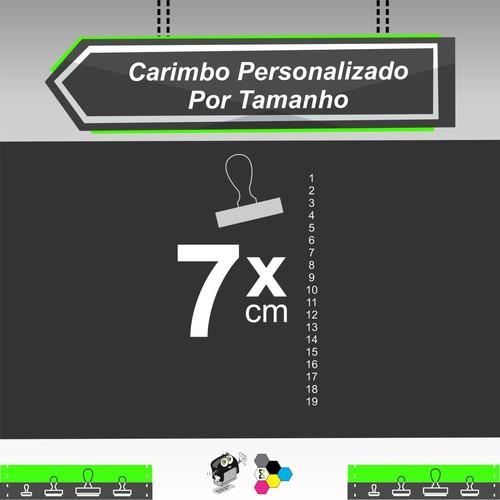 Carimbo Personalizado 7 cm