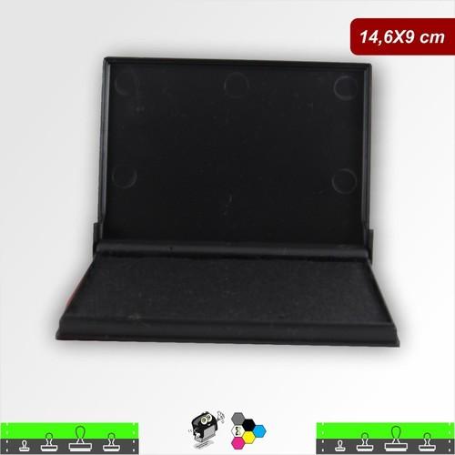 Almofada Para Carimbos Tinta Preta - 14,6 X 9 cm Japan Nº 4