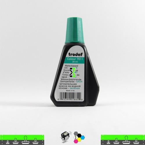 Tinta Trodat Verde de Alta Pigmentação