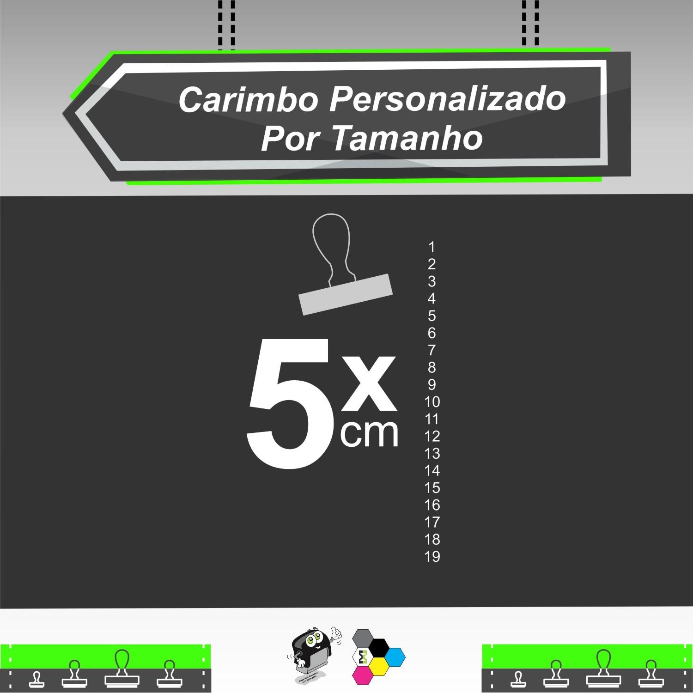Carimbo Personalizado 5 cm