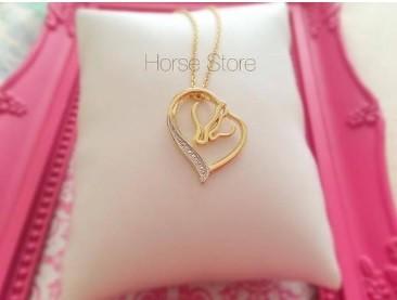 Colar 2 Amores Horse <3