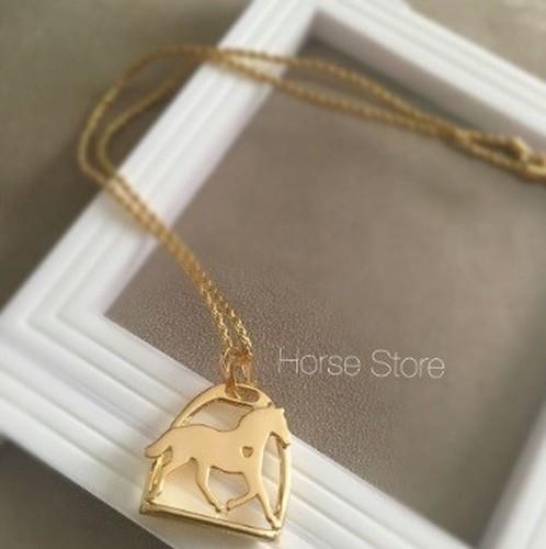 Colar Heart Horse - Estribo