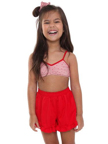 Short Infantil Nina