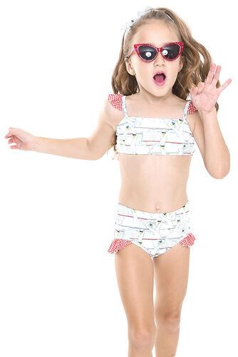 Biquíni Infantil Hot Pants Pedalinho