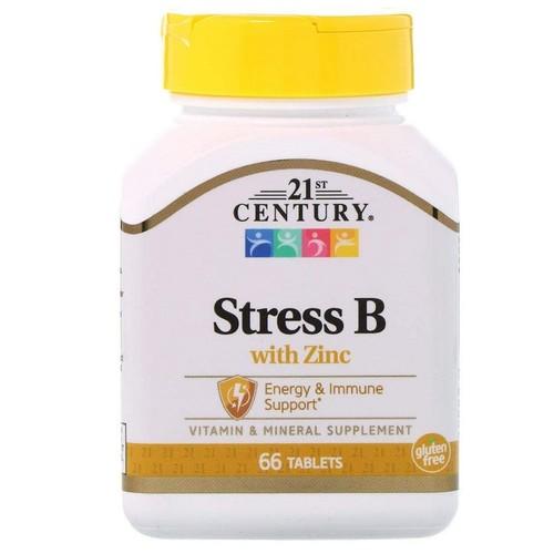 2 x Stress B com Zinco - 21 ST Century - Total 112 tabletes