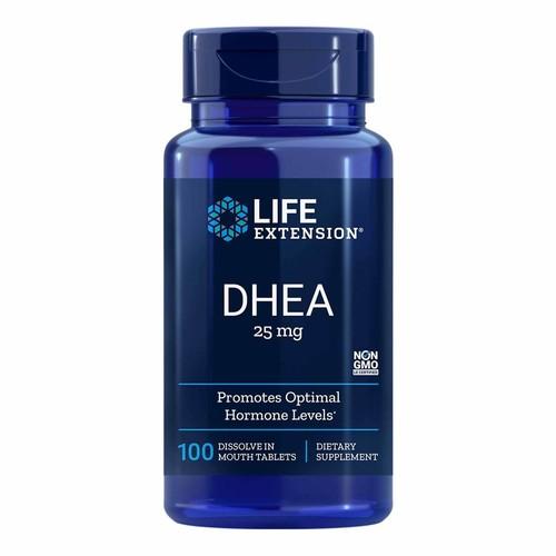 DHEA 25 mg -  Life Extension - 100 comprimidos