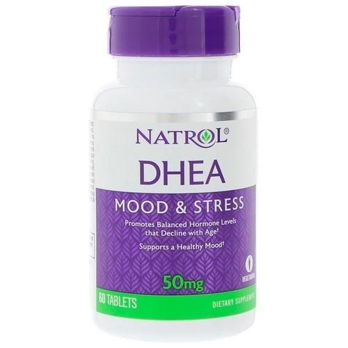 2 x DHEA 50 mg - Natrol - Total 120 comprimidos