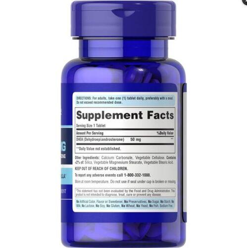 3 x Dhea 50 mg - Puritan's Pride - Total 150 Tablets