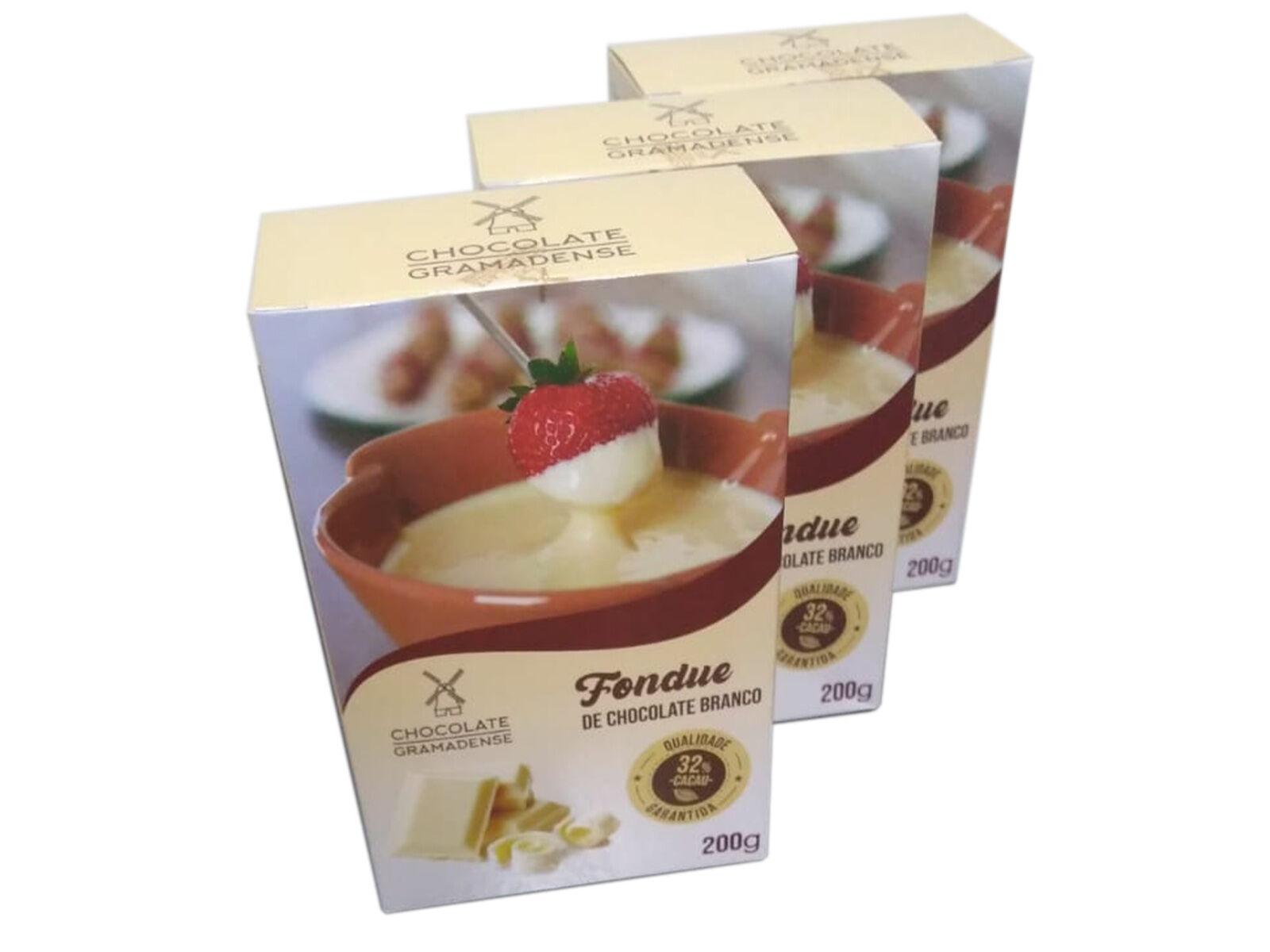 Chocolate para Fondue 200g