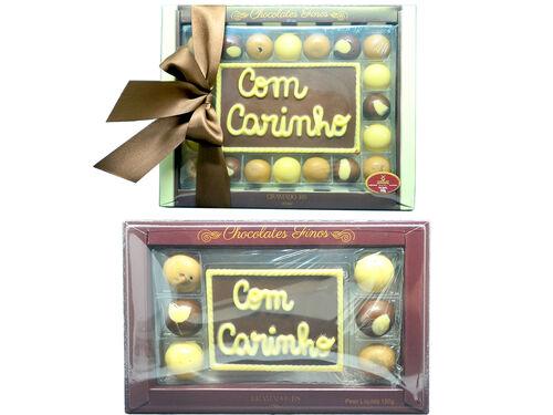 Caixa de Bombons + Barra de Chocolate