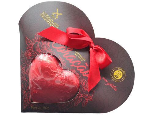 Coração de Chocolate 100g