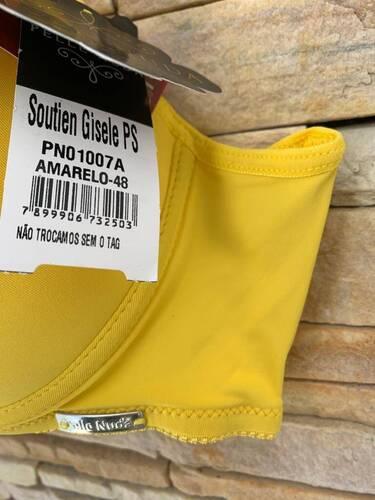 Sutiã Plus Size Balconet de microfibra com Bojo casquinha - Gisele