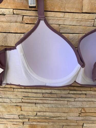 Sutiã Microfibra Plus Size com Bojo Drapeado - Gabriela