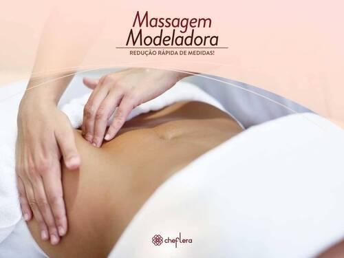 Massagem Modeladora - Reduza medidas já!