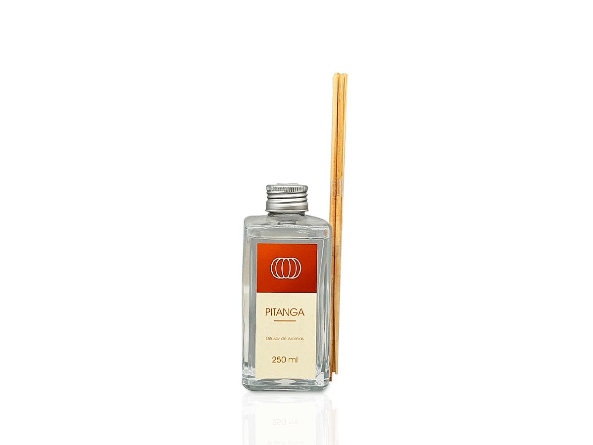 Difusor com Varetas Frasco de Vidro - 250 ml