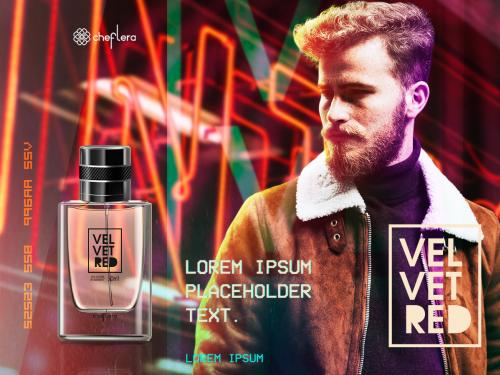 Velvet Red - Deo Colônia
