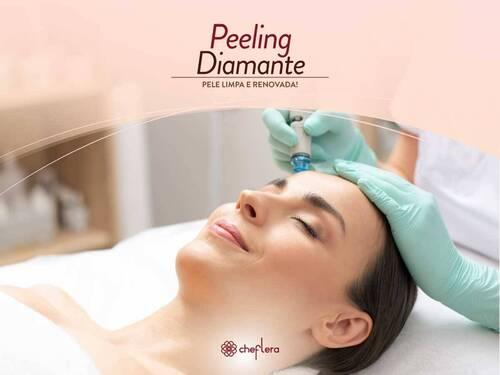 Peeling Diamante - Sua pele mais jovem e renovada!