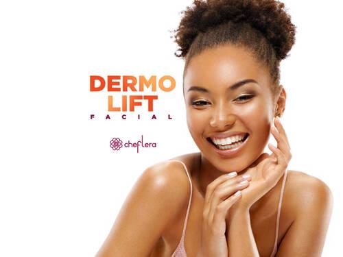Dermo Lift - Combate flacidez, linhas de expressão, rugas e manchas.