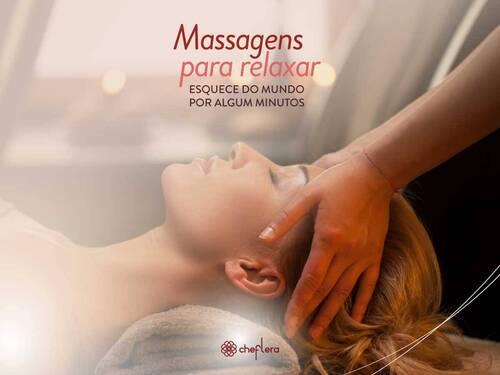 Massagem Relaxante Corporal e Facial - Promove equilíbrio e bem-estar!