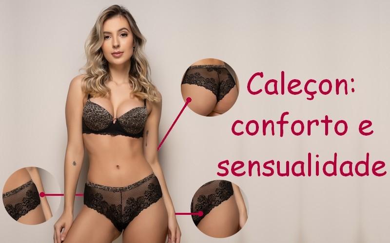 Caleçon: conforto e sensualidade