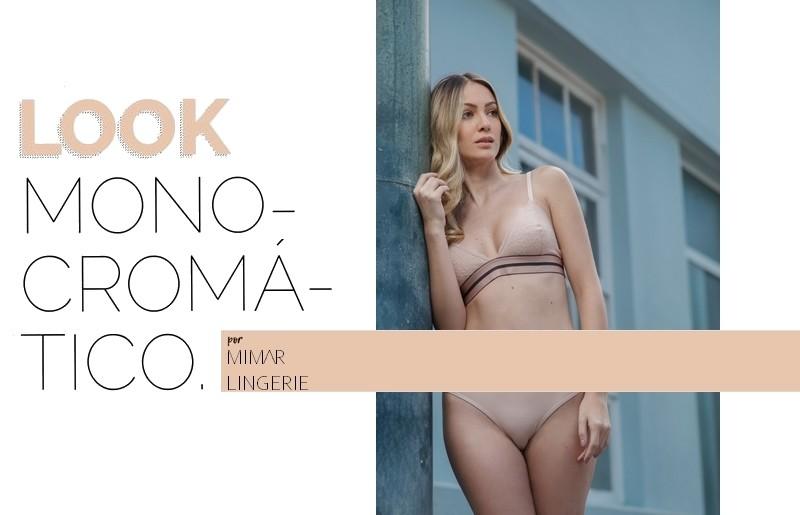 Look monocromático: lingeries com cor vibrante estão com tudo!