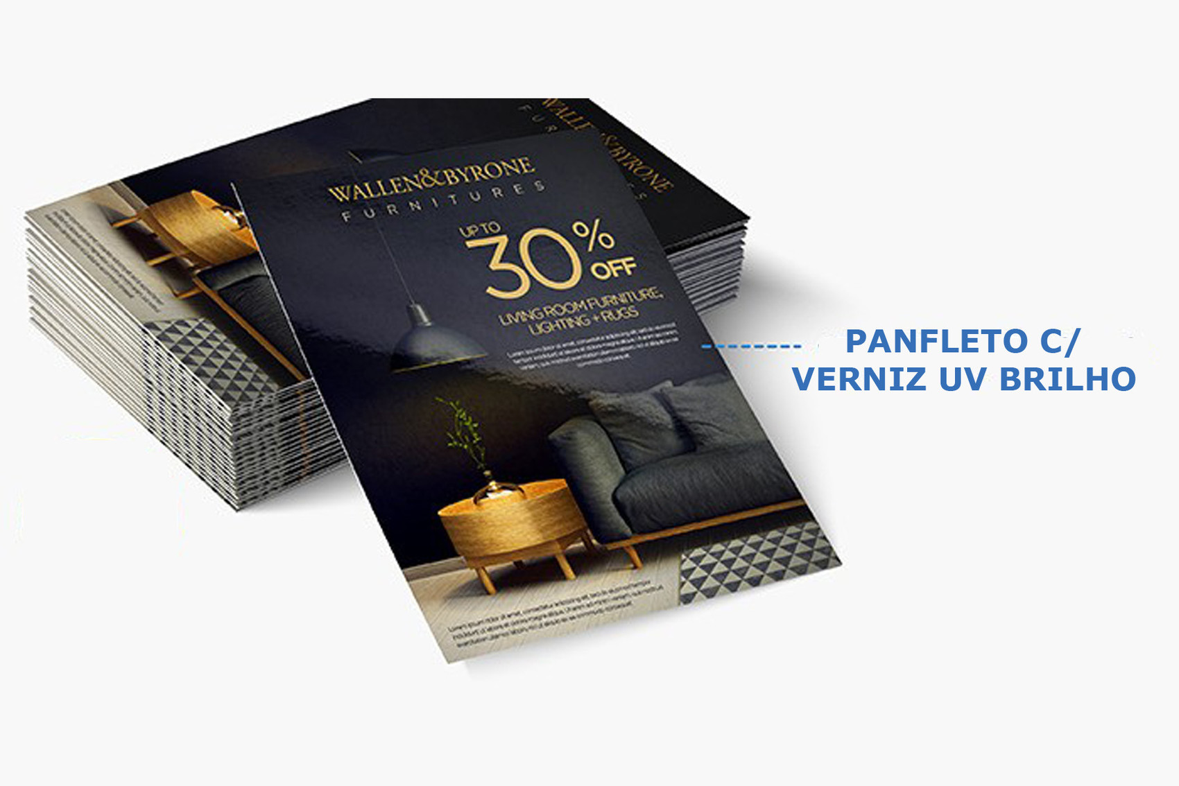 Panfletos / Folhetos / Flyers - 14 x 20 cm