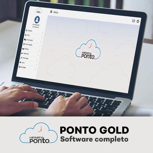 Sistema de Ponto Eletrônico Online - Henry Ponto Gold - até 30 Funcionários
