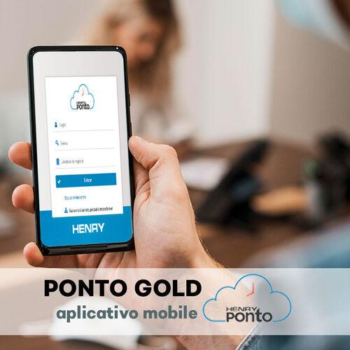 Sistema de Ponto Eletrônico Online - Henry Ponto Gold | Aplicativo Mobile |