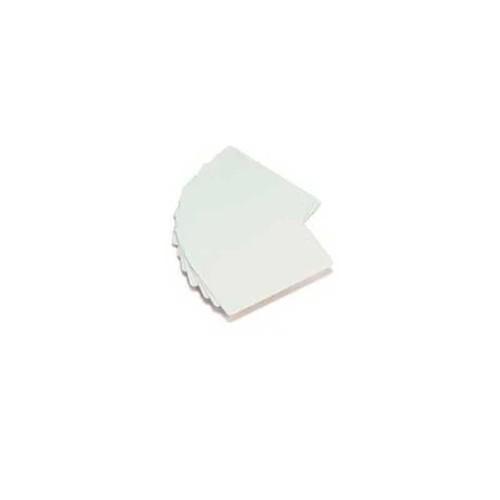 Cartão de PVC Branco Liso   Impressão Jato de Tinta