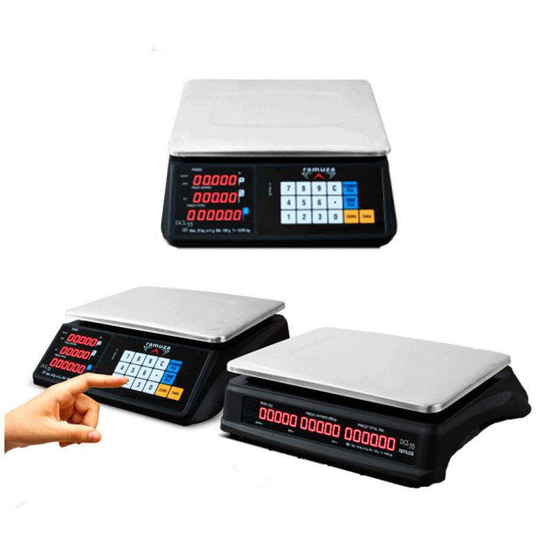 Balança Eletrônica Ramuza DCL INMETRO 35kg   Touch